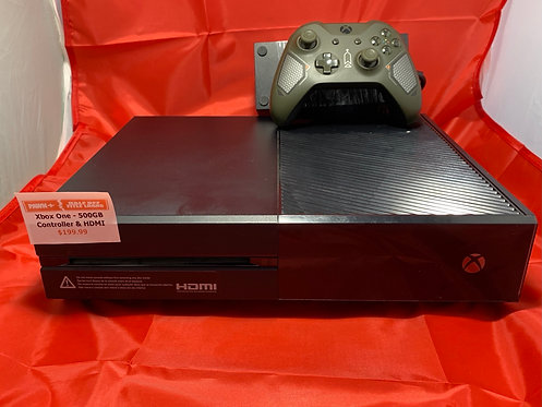 Microsoft Xbox One 500GB - 1540 - Recon Controller - St. George Boulevard