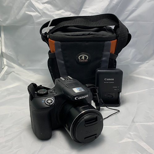 Canon Powershot Sx60HS - 16.1MP - Bag and Charger - St. George Boulevard