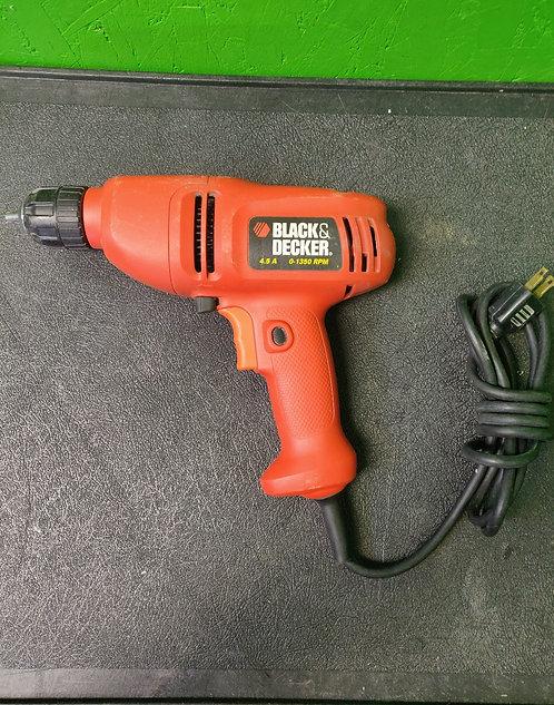 Back & Decker DR200 3/8 Inch Variable Speed Drill- Cedar City