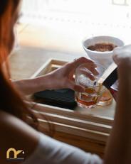 ดริปกาแฟเสร็จแล้วพร้อมดื่ม