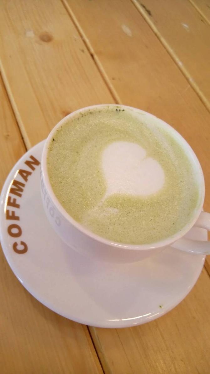 วิธีทำ Matcha Honey Latte