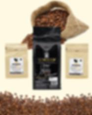 เมล็ดกาแฟคั่ว กาแฟสด กาแฟคั่วบด เครื่องชงกาแฟสด Peaberry อาราบิก้า ผงโกโก้ ผงชาเขียว