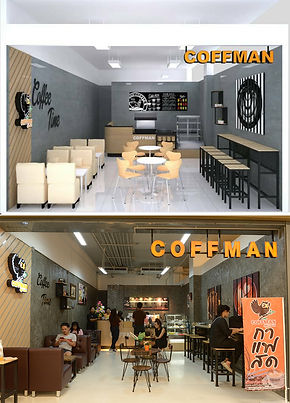 แฟรนไชส์กาแฟสด เปิดร้านกาแฟ ออกแบบร้านกาแฟ