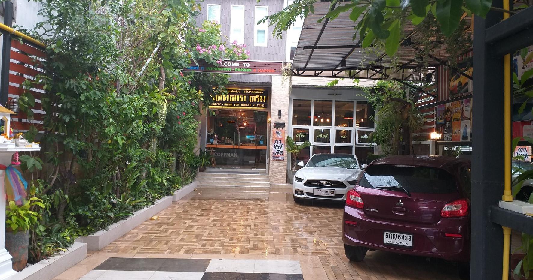 หหน้าร้านกาแฟคอฟแมนสาขาร้อยเอ็ด