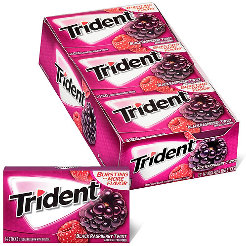 VUP Trident Black Raspberry Twist 12/12/14's