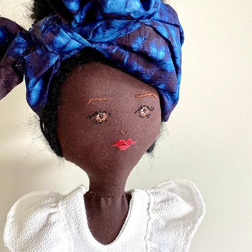 Lady Blue Guinea