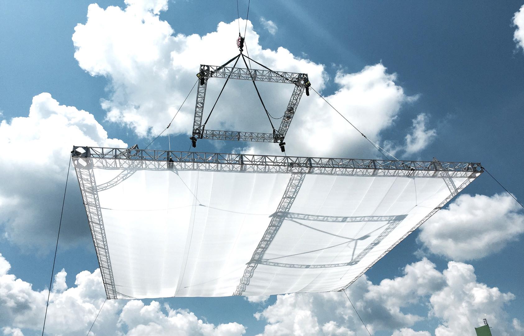 Overhead Diffusion Frames