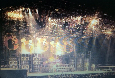 Van Halen World Invasion Tour 1980