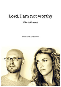 Lord, I am not worthy front cover.jpg