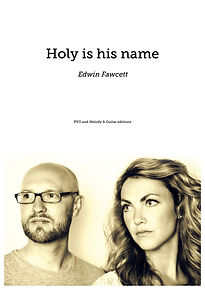 Holy is his name front cover.jpg