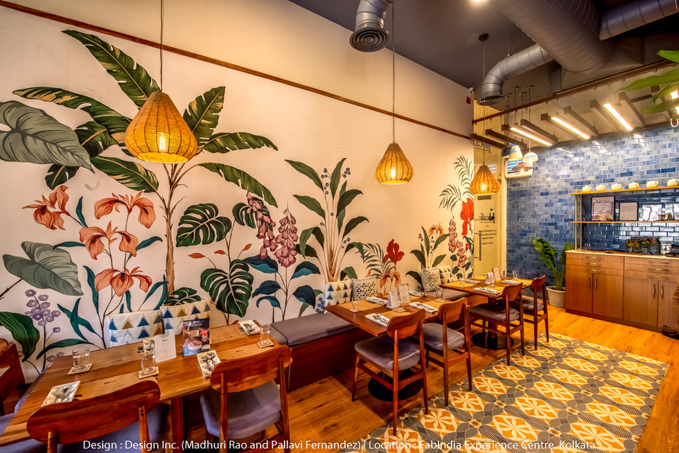 indian restaurant interior design photog