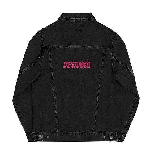 Desanka Unisex Embroidered Denim Jacket