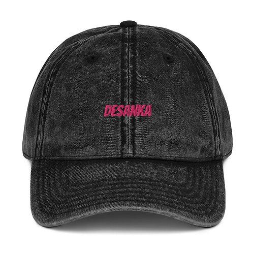 Desanka Vintage Embroidered Baseball Hat