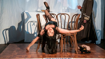 """Review: The Russian Arts Theater and Studio, """"In Paris,"""" and """"The Waiter and the Slut."""" Dec, 2019"""