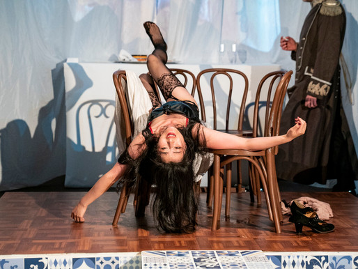 "Review: The Russian Arts Theater and Studio, ""In Paris,"" and ""The Waiter and the Slut."" Dec, 2019"