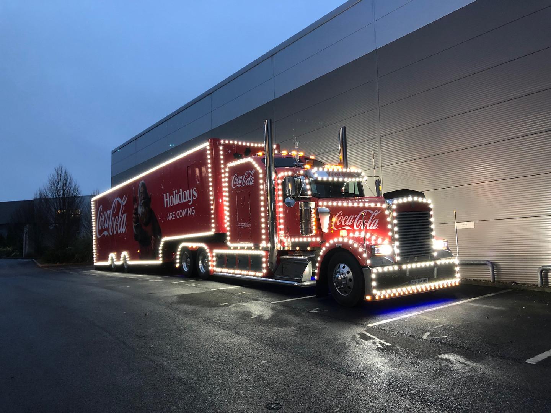 Coca Cola Santa Truck
