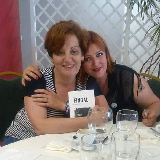 Con Helena Nieto, gran autora y gran mujer