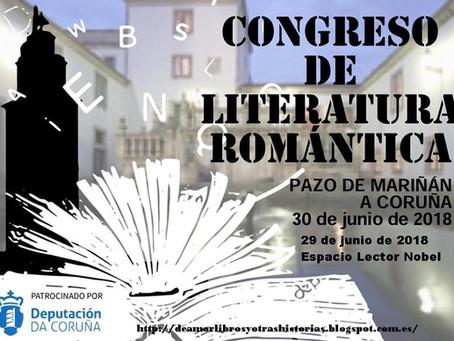 VII Congreso Literatura Romántica de A Coruña, ¡allá vamos!