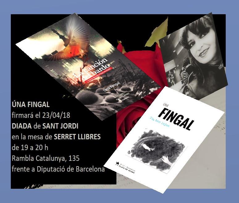 Firma de Sant Jordi en Serret Llibres