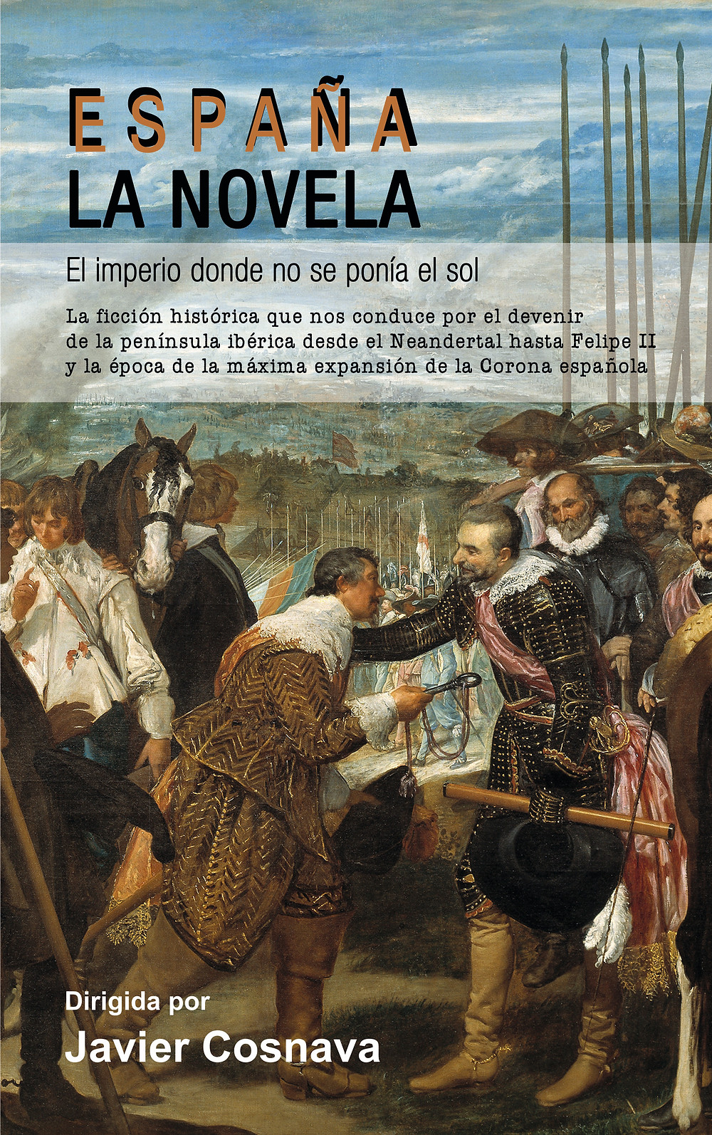 España, la novela. VVAA. Dirigida por Javier Cosnava. Dolmen editorial, 2018