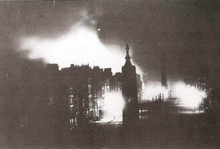 Sacksville St Dublín 1916
