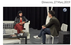Úna Fingal en Canal Blau TV