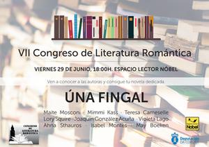 Úna Fingal en el VII Congreso de Literatura Romántica de A Coruña