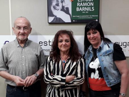 """Entrevista en """"Lletres i Música"""" Ràdio Sant Cugat"""