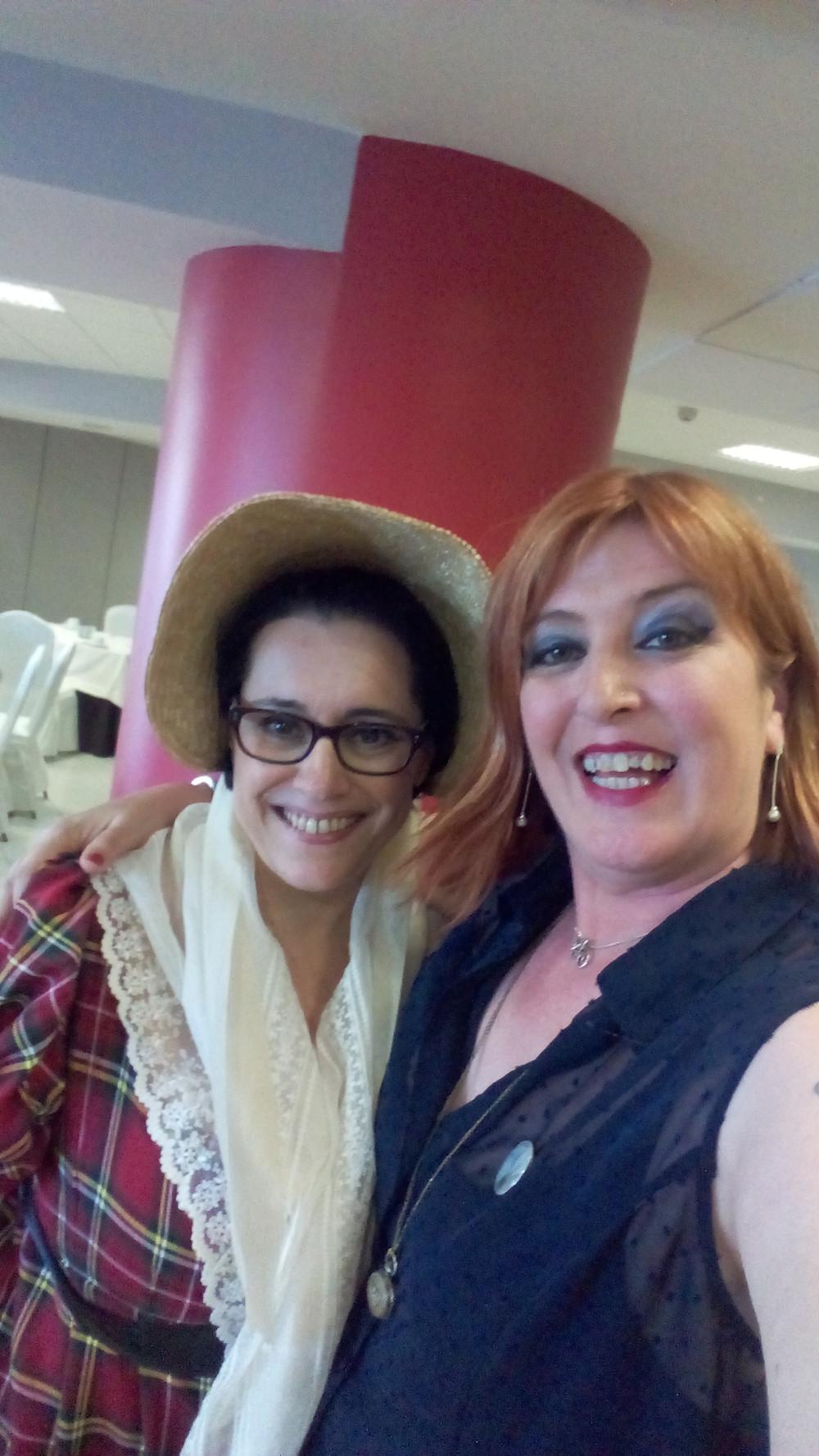 ¡Momentazo Jane Austen, junto a una mujer adorable a la que ya quiero mucho, Trinidad Palacios! ¡Cuántas sorpresas nos aguardaban aún!