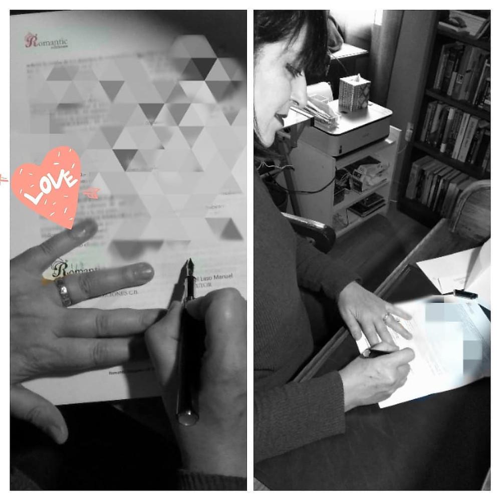 Úna Fingal firma con Romantic ediciones
