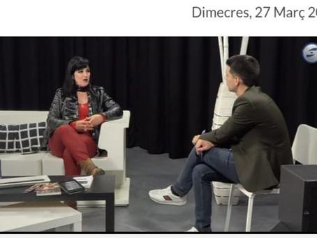 """Entrevista en """"El Raconet"""" Canal Blau TV"""
