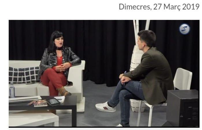 Úna Fingal en El Raconet de Canal Blau TV