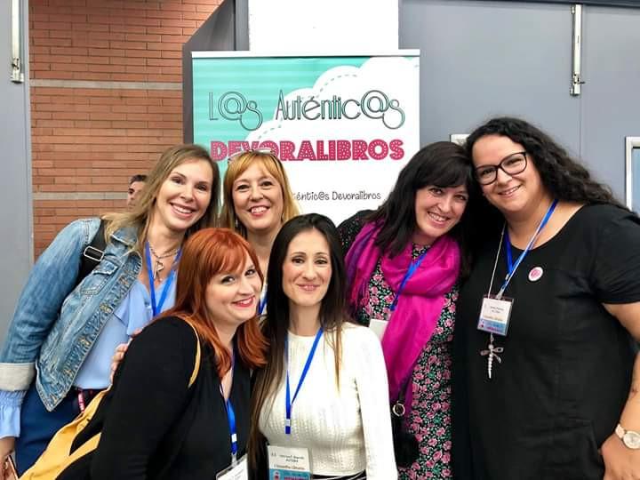 En el II Encuentro literario L@s Autentic@s Devoralibros. Sant Joan Despí 5 de octubre de 2019