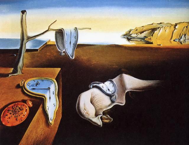 Relojes blandos. Dalí. La persistencia de la memoria 1931