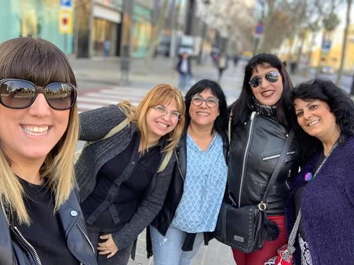 Momentos impagables con Ainhoa S Gómez, Tanya Martins, Mariló Lafuente y Maty Encinas. ¡Con ellas todo es posible!