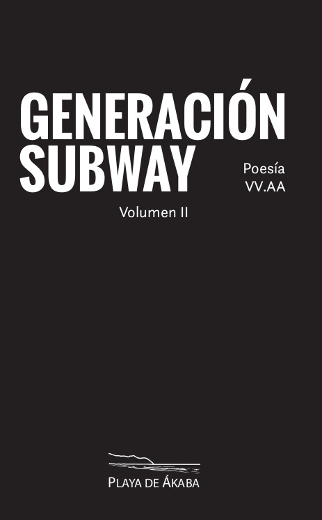 Cover Generacion Subway 2 Poesia