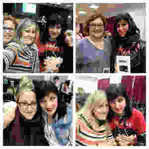 Más momentos maravillosos del #MaynuReadersII y la cámara mágica de la genial Lory Squire!!! ❤️ Con: Iratxe Ortiz Carreño, Lorena Escudero, Úna Fingal, Cristina Puig, Maria Ferrer Payeras.