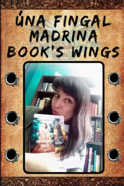 Úna Fingal madrina Book's Wings!!!