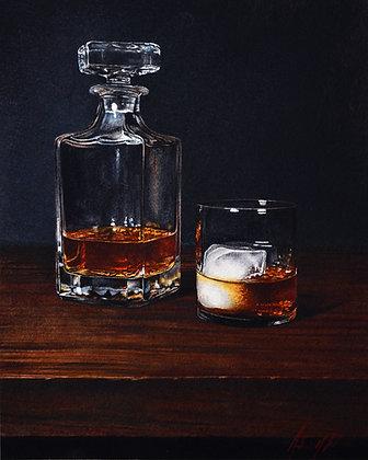 Bourbon II (Print)