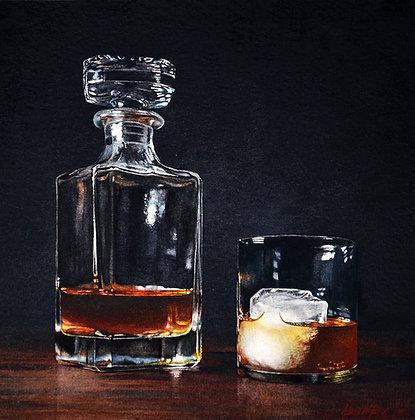 Bourbon I (Print)