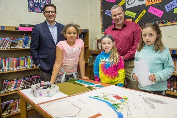 Architecture after school at Pennypack, 2020
