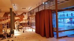 Rideaux doubles SAS restaurant