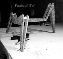 Pieds fauteuil SW