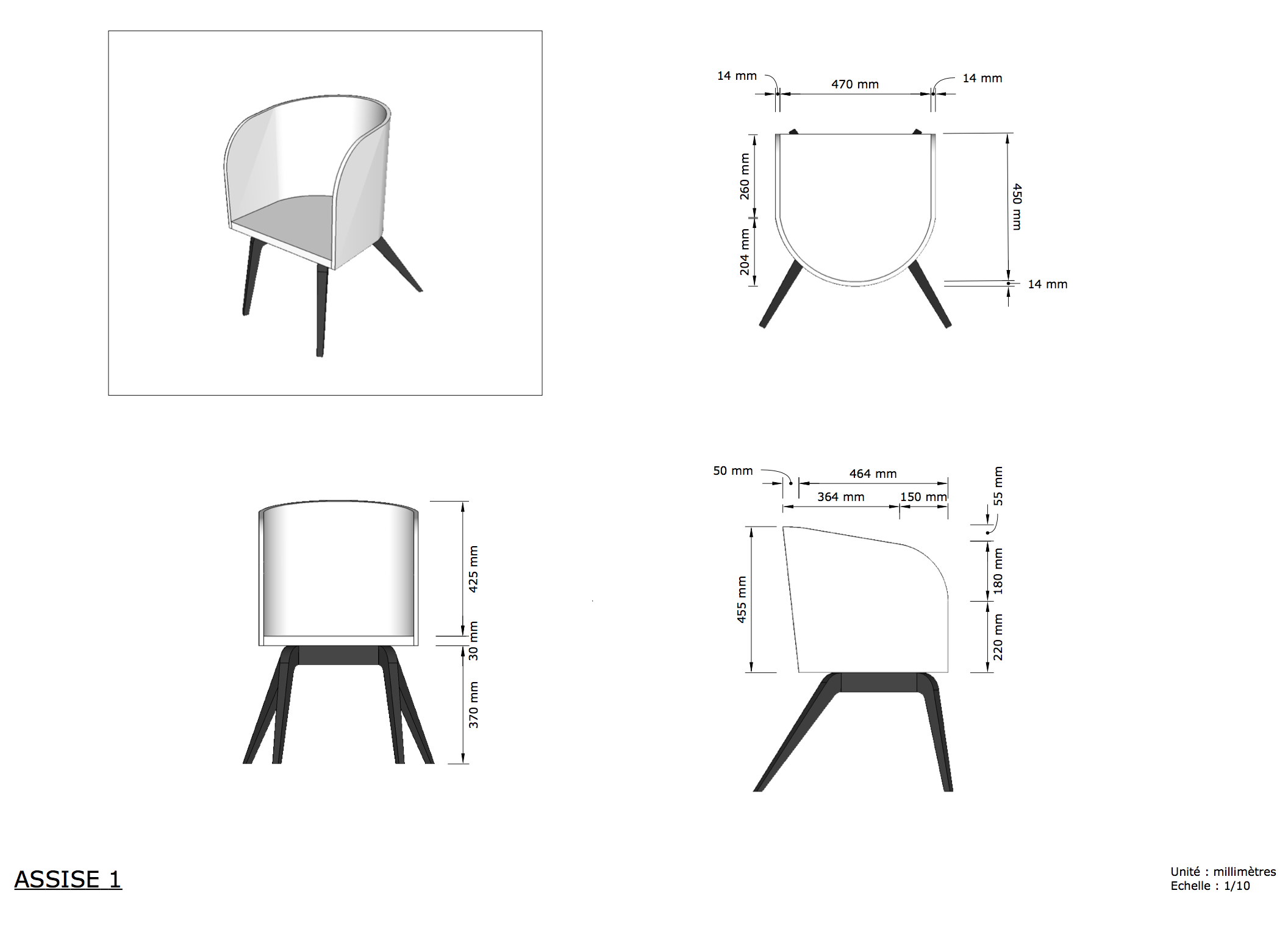 Plan fauteuil