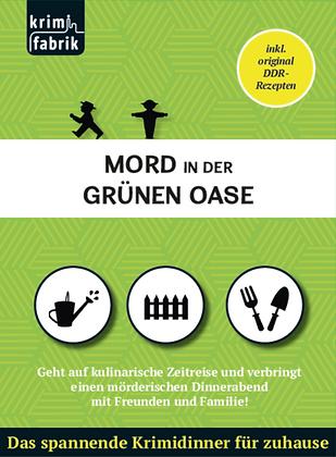 Mord in der Grünen Oase Cover