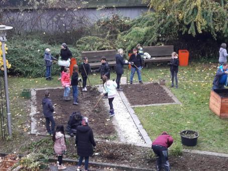 Erfolg und Spaß am Schulgartentag
