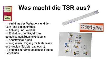 Was macht die TSR aus2