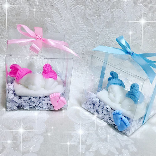 Baby Sleeping Soap Party Favors