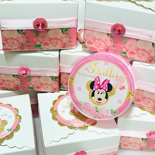 Minnie Mouse Soaps Favor