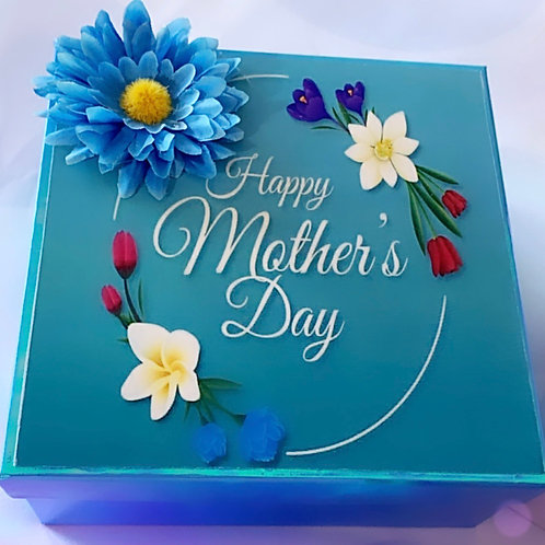 Mother's Day Blue Box
